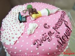 #п220(13) торт для девушки