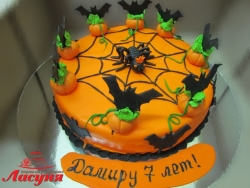 #п220(16) торт на хеллоуин Helloween
