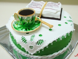 #п220(7) торт на 8 марта