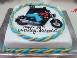 #п250(12) торт для байкера