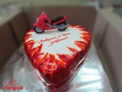 #п250(15) торт мотоцикл