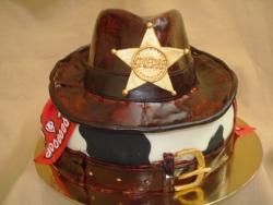 #п250(17) торт ковбойская шляпа