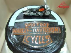 #п250(3) торт мотоцикл Harley-Davidson