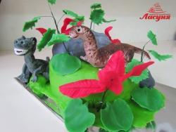 #п250(8) торт динозавры