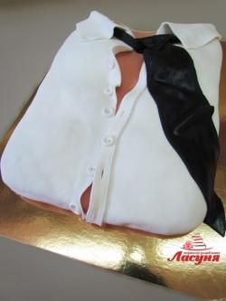 #в220 (8) торт на девичник мужская рубаха