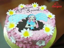 #д135(110) торт Винкс Winx