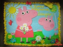 #д140(52) торт Свинка Пеппа и Джордж