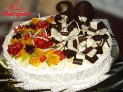#п115(12) торт на юбилей