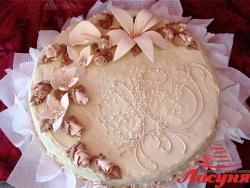 #п115(26) торт с лилией