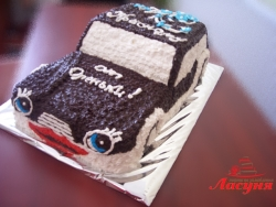 #п115(30) торт машинка