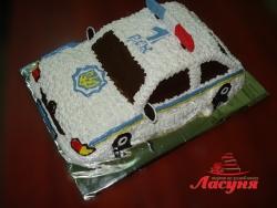 #п115(32) торт полицейская машина