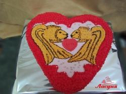 #п115(50) торт золотые рыбки