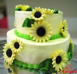 #п115(52) торт подсолнухи