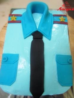 #п115(78) торт рубаха с погонами