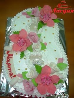 #п115(9) торт на 8 марта