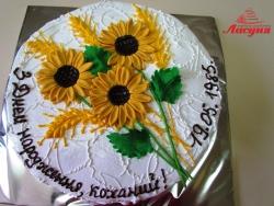 #п130(16) торт подсолнухи