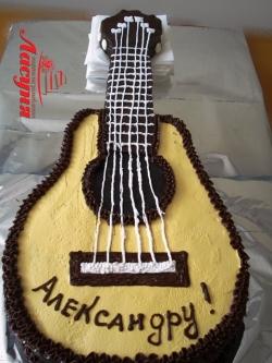 #п130(3) торт гитара