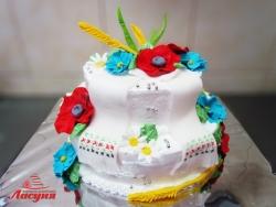#п130(9) торт в украинском стиле