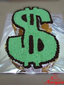 #п135(1) торт доллар
