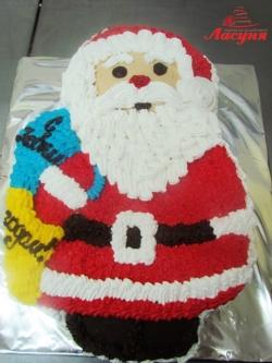 #п135(15) торт Дед Мороз