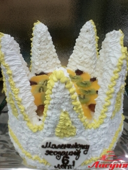 #п135(3) торт корона