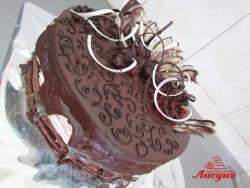 #п135(8) шоколадный торт с ажурами