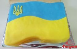 #п140(21) торт флаг Украины