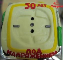 #п140(22) торт розетка для электрика