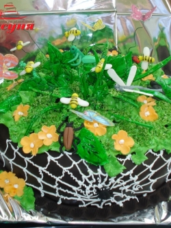 #п140(24) торт лесная поляна
