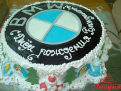 #п140(33) торт БМВ BMW
