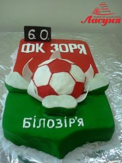 #п140(34) торт для футбольной команды