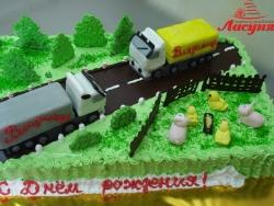 #п150(13) торт для дальнобойщика фуры