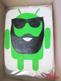 #п150(27) торт Андроид Бородатый