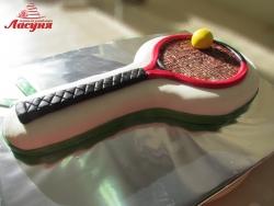 #п150(31) торт теннисная ракетка