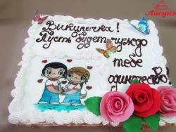 #п150(38) торт Love is