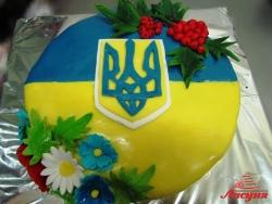 #п150(8) торт флаг герб Украины