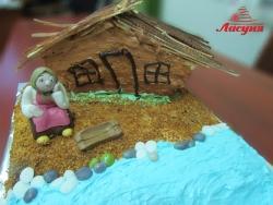 #п160(12) торт старуха у разбитого корыта