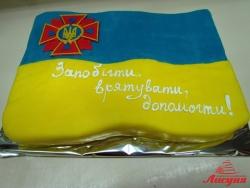 #п160(13) торт для спасателей ДСНС