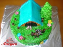 #п160(25) торт турист