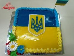 #п160(31) торт флаг Украины