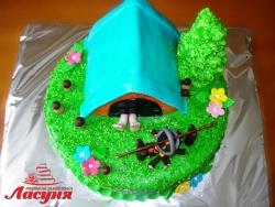 #п160(33) торт для туриста