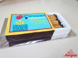 #п160(36) торт спички