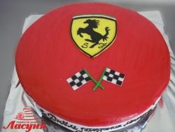 #п160(38) торт Феррари Ferrari