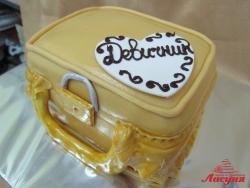 #п160(43) торт чемодан на девичник