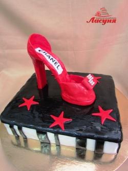 #п160(49) торт туфелька