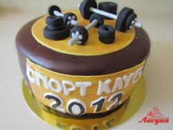 #п160(56) торт для спорт клуба