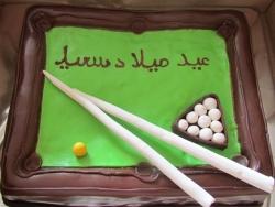 #п180(16) торт биллиард