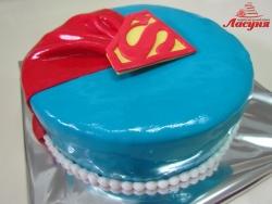 #п180(27) торт Супермен Superman