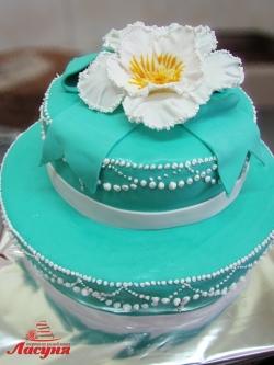 #п180(6) торт мастика 2 яруса