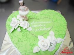 #п180(9) торт баллерина